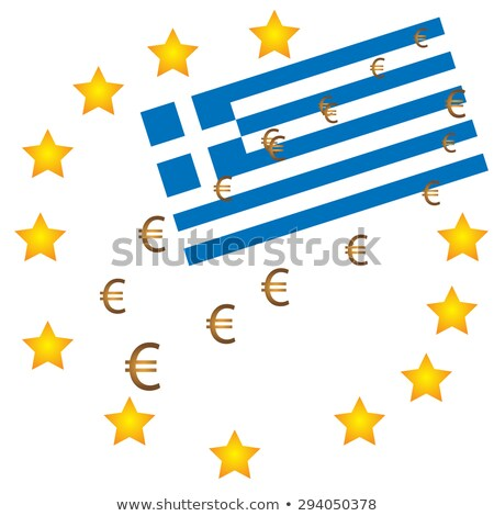 Euro Causes Recession at Greece Stock photo © ankarb