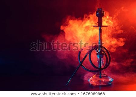 árabe · tubería · agua · metal · negro - foto stock © winterling