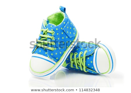 spotted baby sneakers stock photo © olinkau