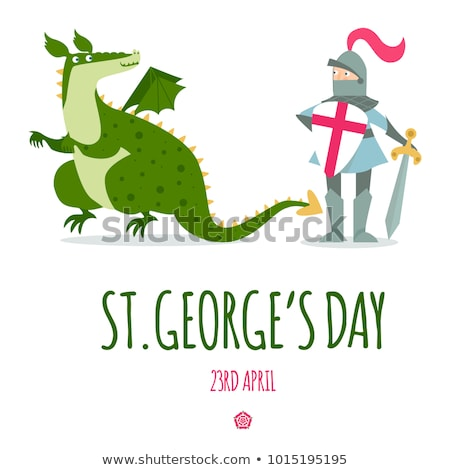 St George and the dragon Stock photo © Snapshot