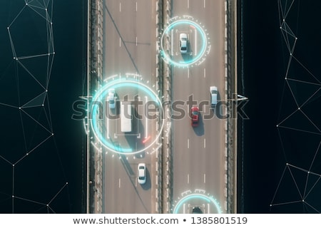 Vehicle with GPS. Stock photo © iofoto