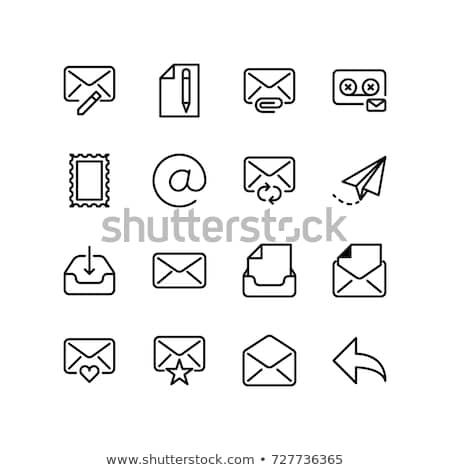 compose mail illustration Stock photo © Krisdog