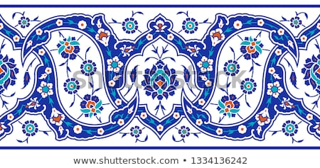 Iznik motif Stock photo © HypnoCreative
