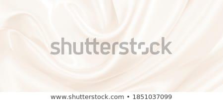 Dorado seda raso hermosa olas textura Foto stock © sailorr