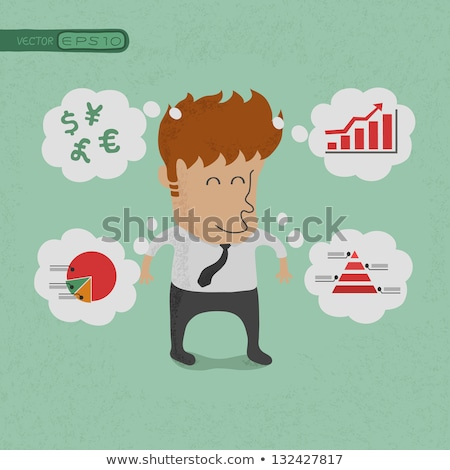 Business man wealthy , eps10 vector format Stock photo © ratch0013