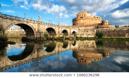 霊廟 · ローマ · イタリア · 建物 · 橋 · 石 - ストックフォト © lianem