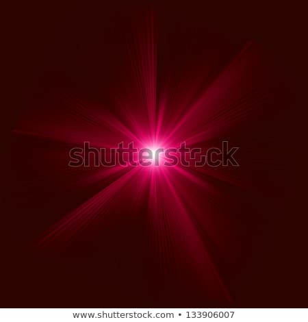 Red light burst with white star Stock photo © wenani