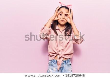 The girl tries on a diadem Stock photo © PavelKozlovsky
