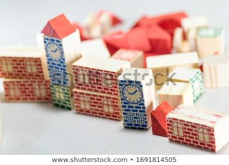 помочь алфавит блоки изолированный Сток-фото © tashatuvango