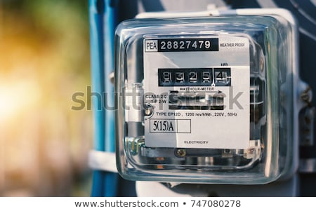 watthour meter  stock photo © anan