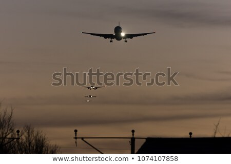 Final approach before landing Stock photo © moses