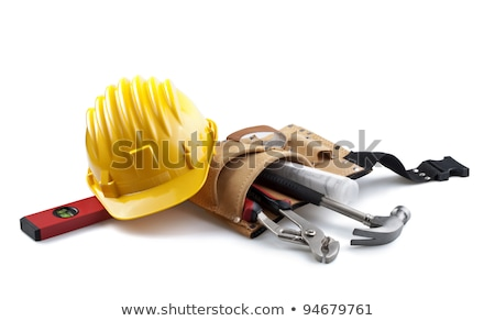 construction tools isolated on white stock photo © ambientideas