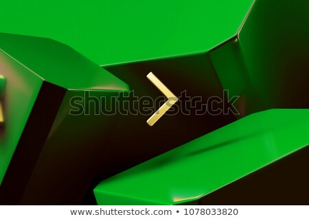 Online Identity on Green Direction Sign - Arrow. Stock photo © tashatuvango