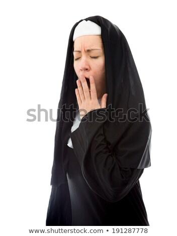 Jovem freira caucasiano mulher Foto stock © bmonteny