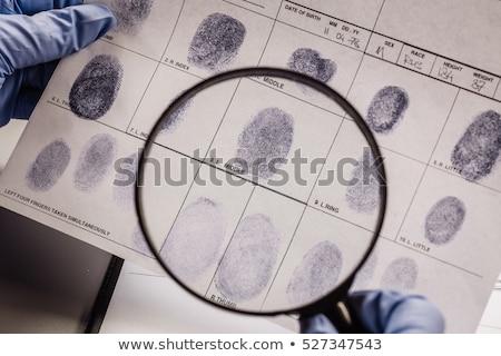 CRIMINOLOGY Stock photo © chrisdorney
