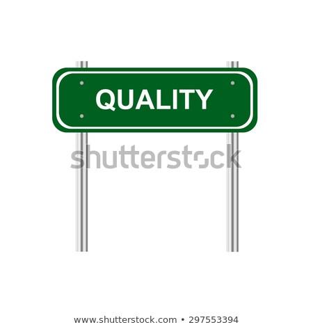 Mejor compras verde carretera poste indicador carretera Foto stock © tashatuvango