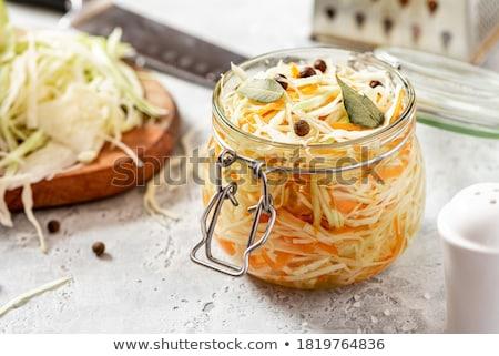 Pickled cabbage Stock photo © yelenayemchuk