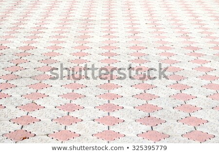 Brown Polygonal Paving Slabs. Stock photo © tashatuvango