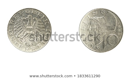 Obverse and Reverse of Austria Coin. Stock photo © tashatuvango