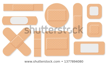 adhesive bandage stock photo © klinker