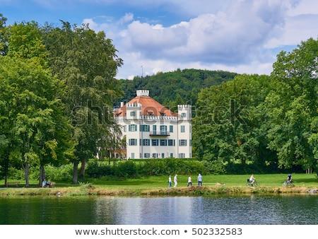 castillo · imagen · lago · cielo · casa · deporte - foto stock © w20er