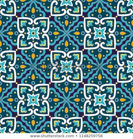 唐辛子 · シームレス · タイル · デザイン · 背景 · 壁紙 - ストックフォト © netkov1
