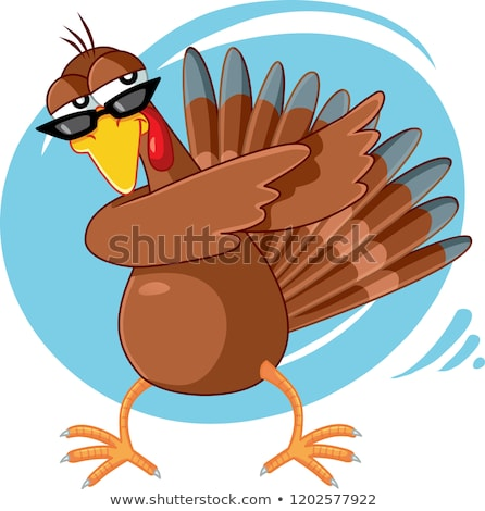 Funny turkeys stock photo © adrenalina