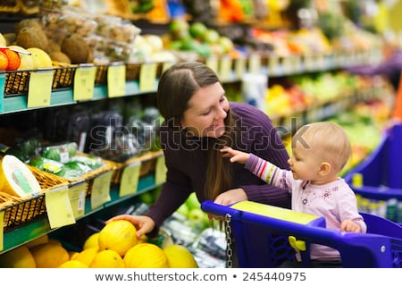 family with baby in shop Stock photo © Paha_L