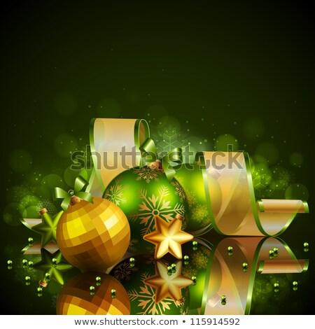 Рождества свет версия приглашения Сток-фото © Valeriy