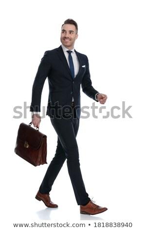 Sexy · успешный · деловой · человек · модный · молодые · бизнесмен - Сток-фото © feedough
