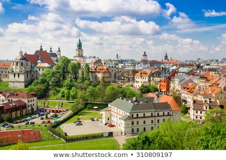 lublin old town panorama poland stock photo © photocreo