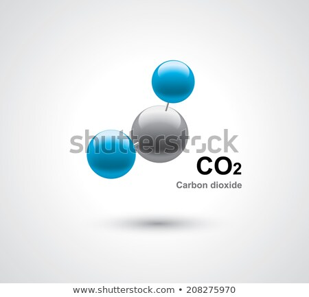 CO2 molecules Stock photo © bluering