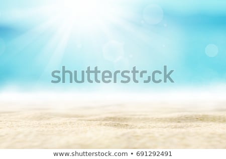 A beach with a bright sun Stock photo © bluering