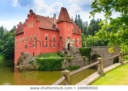 Cervena Lhota chateau, Czech Republic Stock photo © phbcz