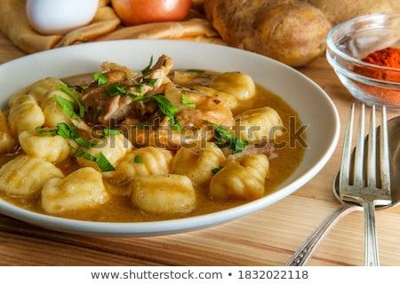 Cooked Potato Gnocco stock photo © Digifoodstock