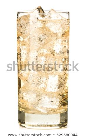 Szkła imbir ale domowej roboty cytryny wapno Zdjęcia stock © Digifoodstock