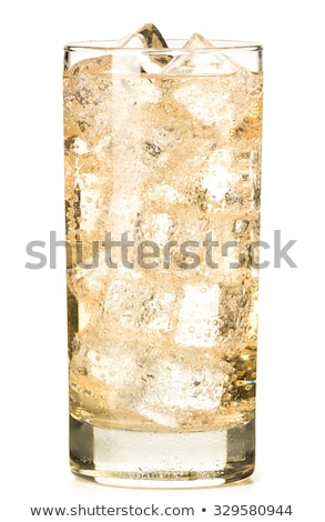 Vidrio jengibre cerveza inglesa casero limón cal Foto stock © Digifoodstock