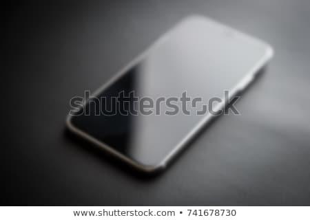 スマートフォン 無限 表示 技術 電話 黒 ストックフォト © AbsentA