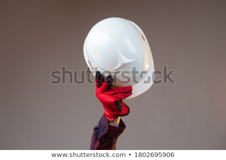 Man tools werken portret masker Stockfoto © IS2