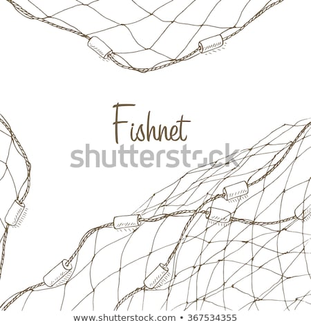 fish in netting Stock photo © IS2