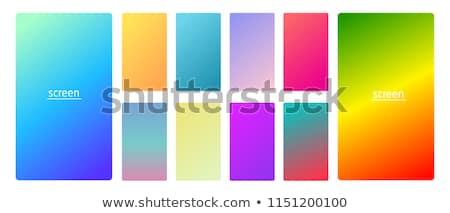 Vibrante colección pendientes móviles aplicación fondo Foto stock © SArts