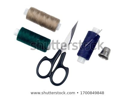 Thread and thimble  Stock photo © OleksandrO