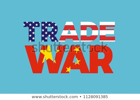 china united states trade trouble stock photo © lightsource