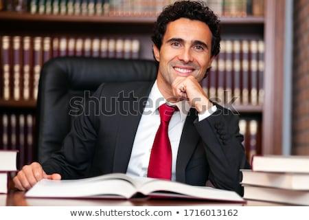 Adwokat studio działalności pracy biznesmen korporacyjnych Zdjęcia stock © Minervastock