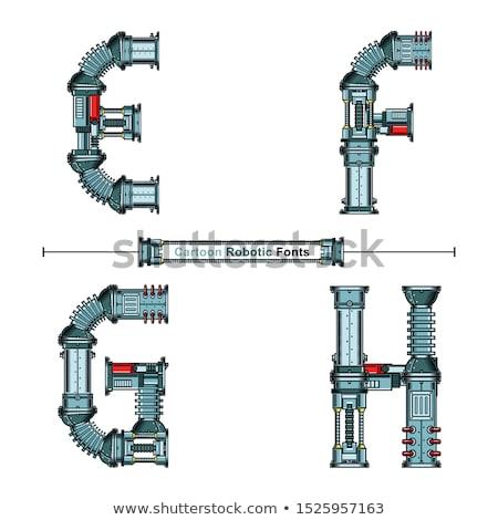 Dziecko proste maszyny śruby ilustracja mały Zdjęcia stock © lenm