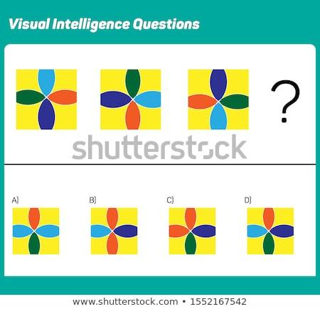 Játék puzzle oktatási gyerekek felnőttek fejlesztés Stock fotó © Olena