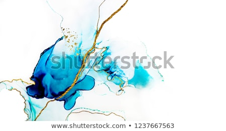 blue watercolor flow texture background stock photo © sarts