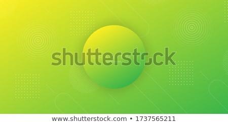 elegant abstract yellow theme papercut background Stock photo © SArts