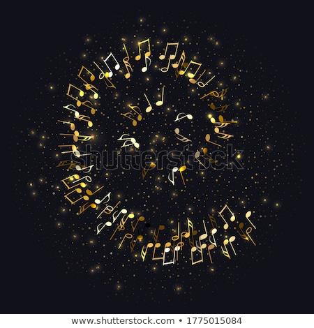 музыки отмечает баннер ярко радостный вечеринка Сток-фото © alexaldo