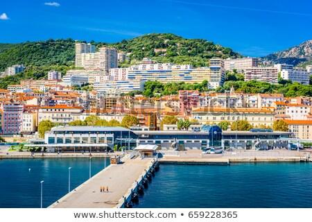 port of ajaccio in corsica france stock photo © nito